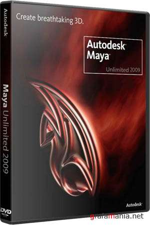 Autodesk Maya Unlimited 2009 SP1. ��� Win32, Win64, Linux64, MacOS (2009)