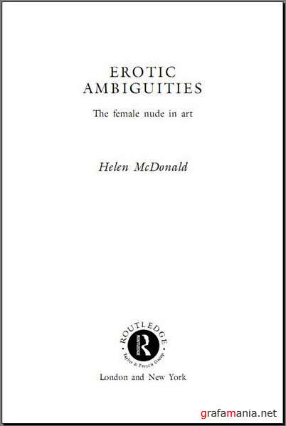 Books / Erotic Ambiguities: The Female Nude in Art