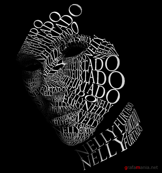 25 Beautiful Examples Of Typography Portraits