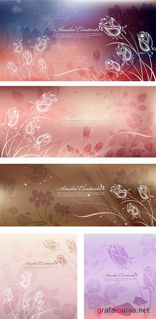 Asadal Contents | Flowers Backgrounds
