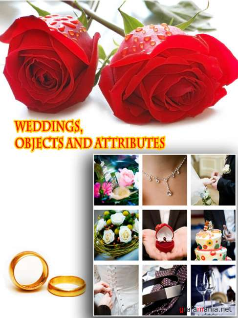 Weddings, objects and attributes