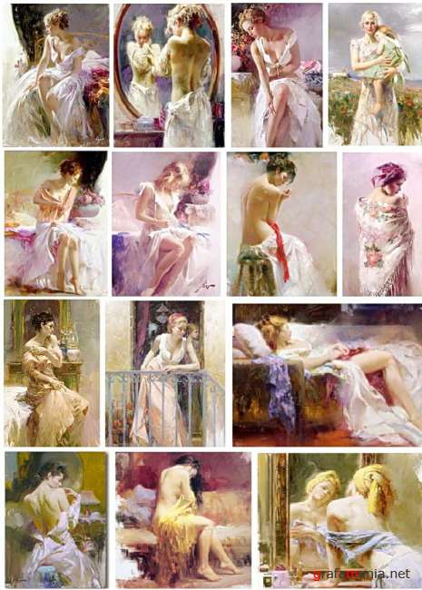 Works by Pino Daeni