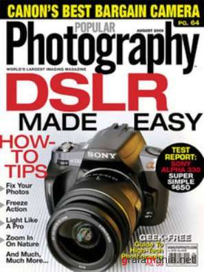 Popular Photography - August 2009 (US)