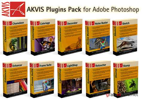 AKVIS Plugins Pack for Adobe Photoshop (2009)