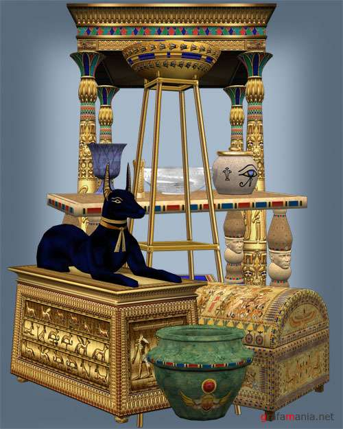 ����������� - Egyptian Props Object Stock
