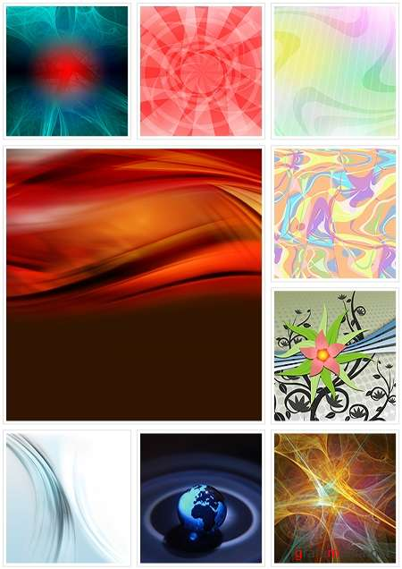 Various backgrounds. ����� 3