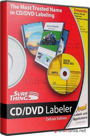 SureThing CD/DVD Labeler Deluxe 5.1.614.0 Eng/Rus. � ��������� �������������� ��������� (2009)