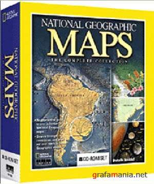 100 years Of National Geographic Maps - Карты за 100 лет National Geographic (1888-1999)