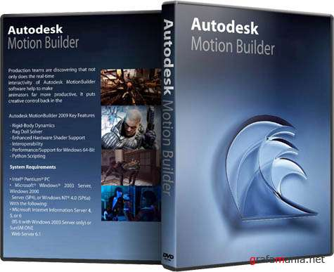 Autodesk MotionBuilder 2010. Win32/Win64 (2009)