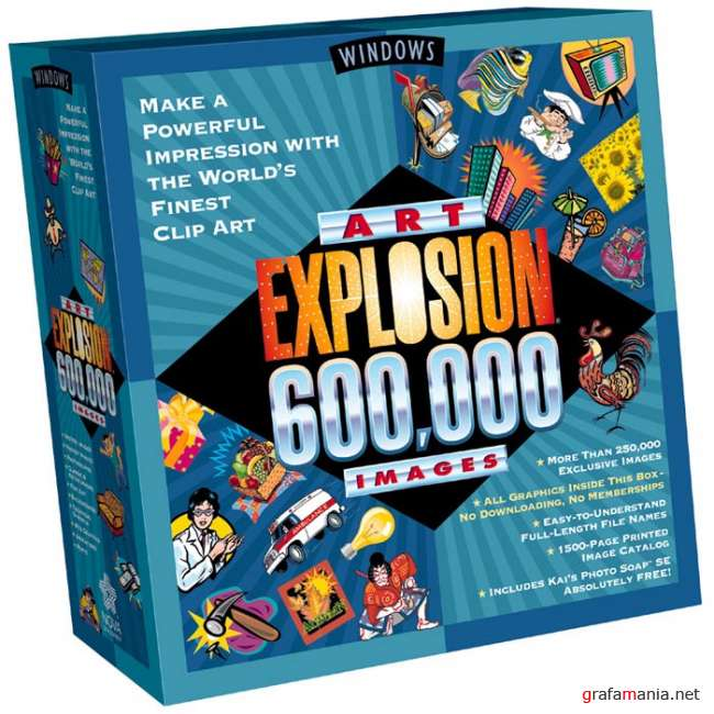 Art Explosion 600,000 Images cd 16-29