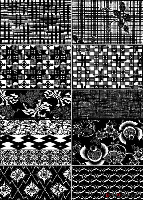 Japanese ornaments and patterns 19   Японские орнаменты и узоры 19