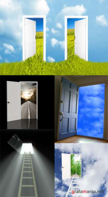 Door In other world