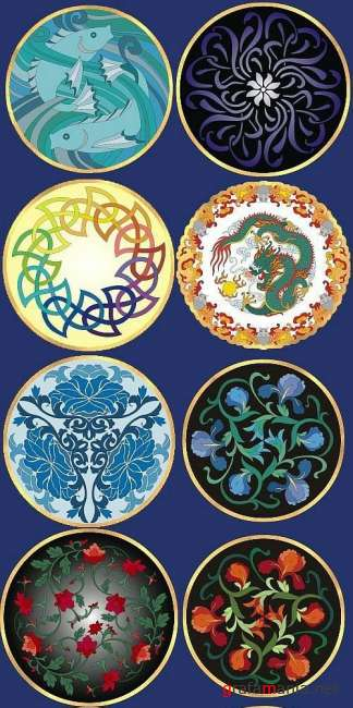 Round Ornaments 2