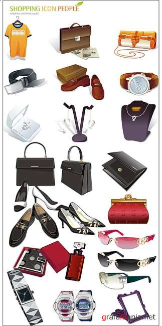 Shopping Icons - Accessories