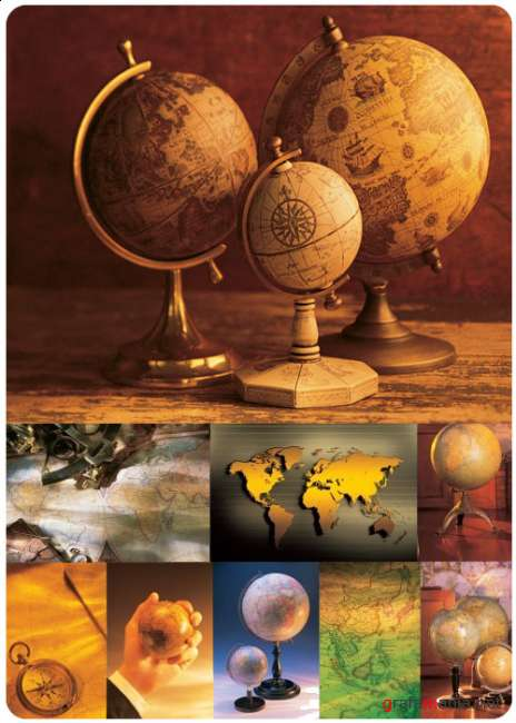 Maps & Globes (Comstock)