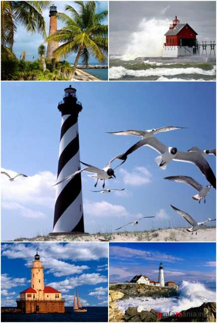 Wallpapers - Lighthouses Pack