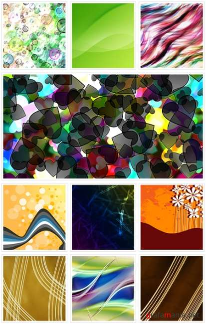 Various backgrounds. ����� 7