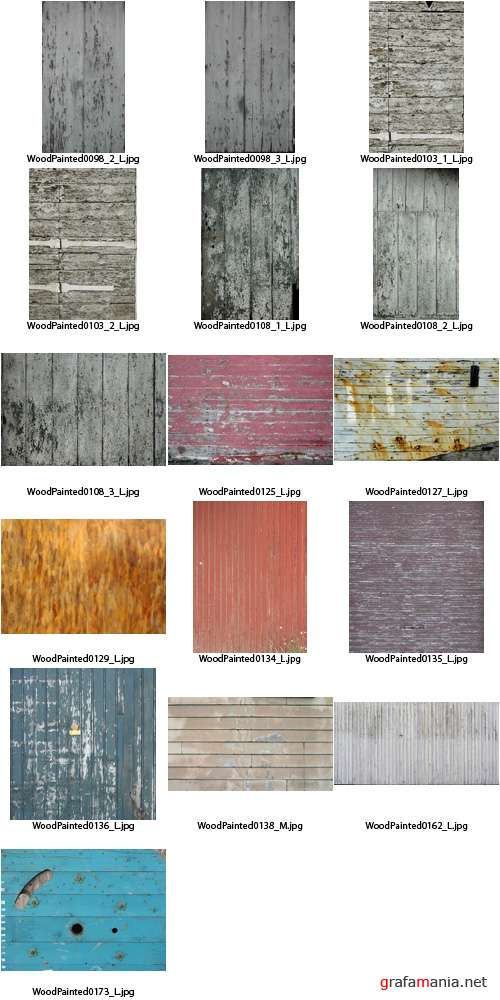 �������� - Wood Painted Textures #4