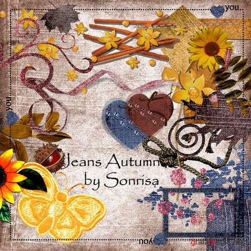 �����-����� jeans autumn kit by sonrisa