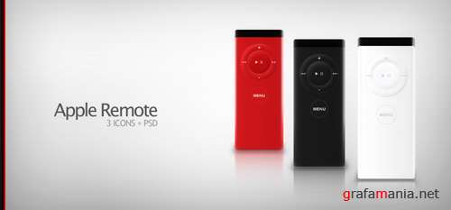 PSD - Apple remote