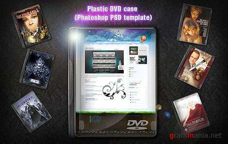 PSD  -  DVD case