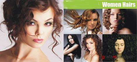 Collection Curly Hair Women