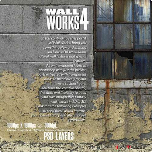 PSD - Wall Works