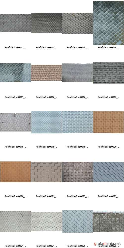 �������� - Roofing Tiles Textures