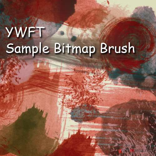 YWFT Sample Bitmap Brush for Photoshop