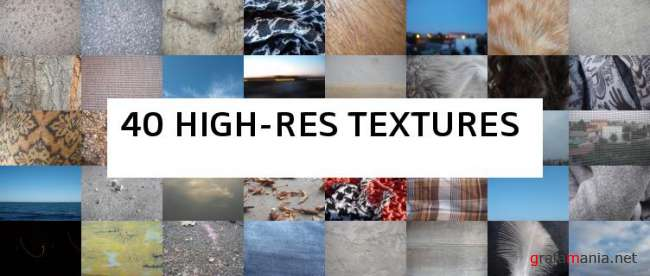 40 HIGH-RES TEXTURES