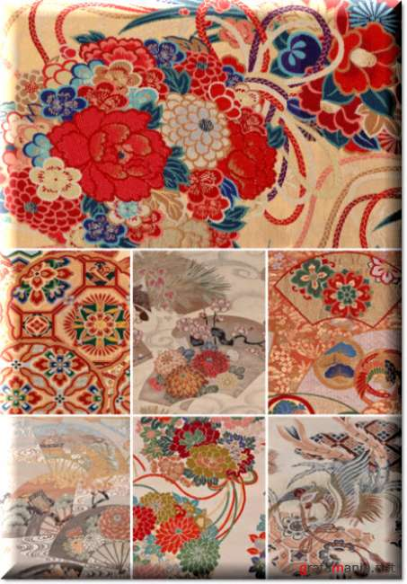 Japanese ornaments and patterns 22   Японские орнаменты и узоры 22