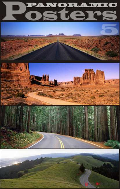 Panoramic Posters-5. Roads
