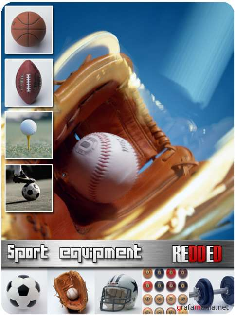 Sport equipment - free clipart foto