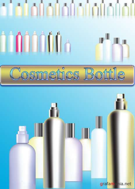 Cosmetics Bottle Vector