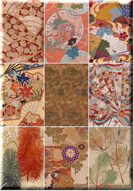 Japanese ornaments and patterns 24   Японские орнаменты и узоры 24