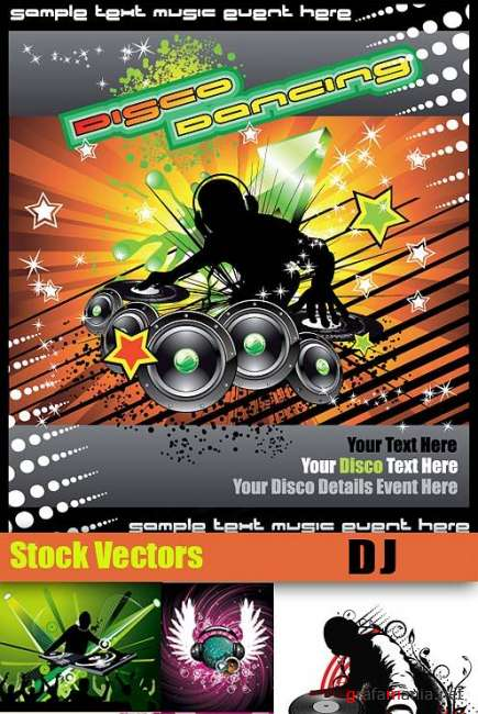 DJ Music Vectors Mix