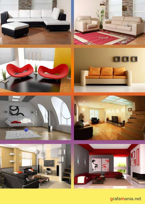 40 Modern Interior Designs Wallpapers
