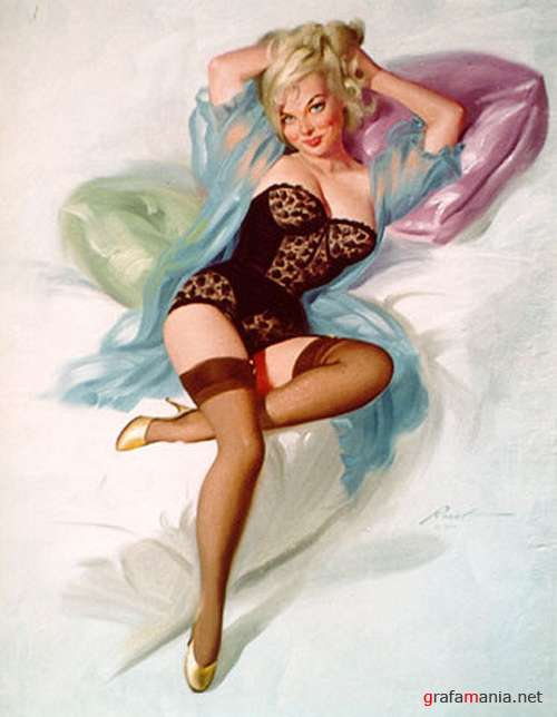 History Pin-Up. Donald Rust