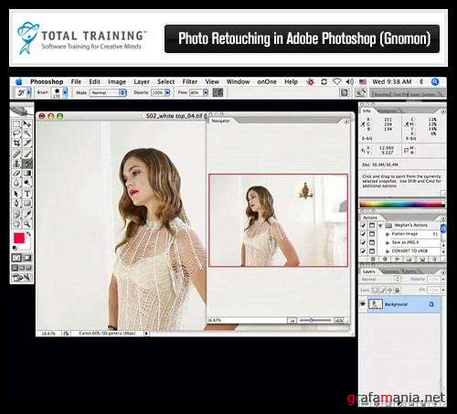 Total Training Photo Retouching in Adobe Photoshop