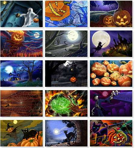 Halloween Art Illustrations Wallpapers