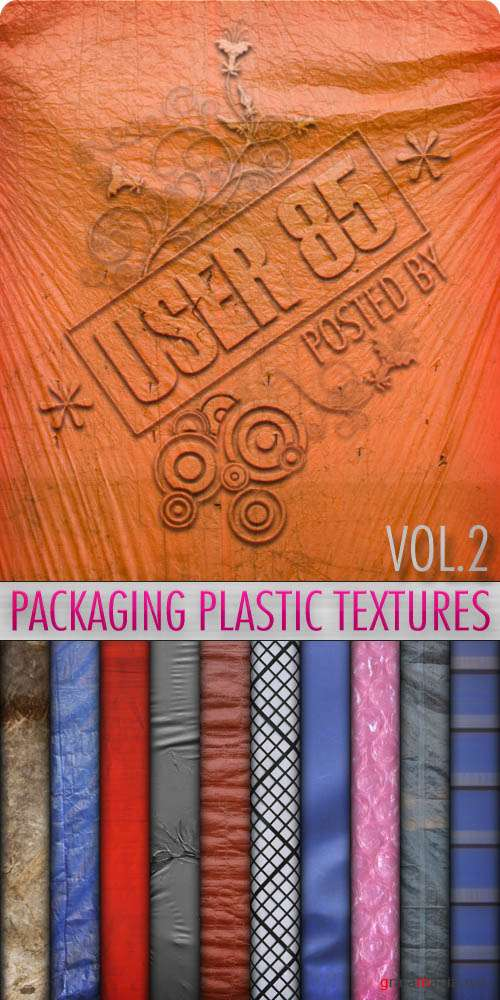 Текстуры - Packaging Plastic Textures #2