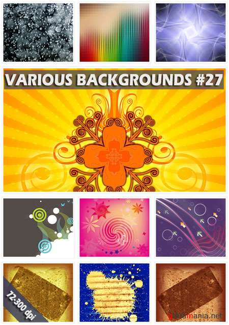 Various backgrounds. ����� 27