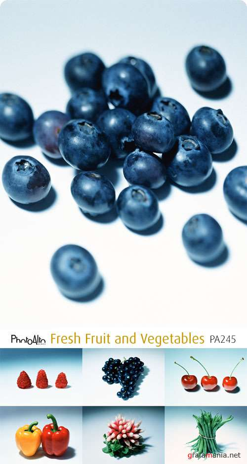 PhotoAlto | PA245 | Fresh Fruit and Vegetables
