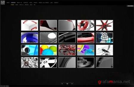 Flash template Flashden COMPLETE XML WEBSITE V.2