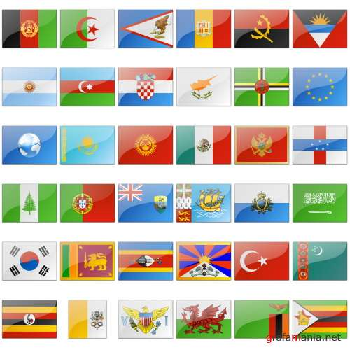 IconExperience V-Collections. Flags Of The World