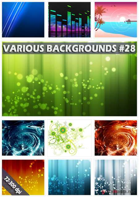 Various backgrounds. ����� 28