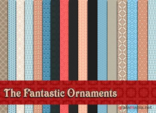 "Patterns Pack ""The Fantastic Ornaments"""