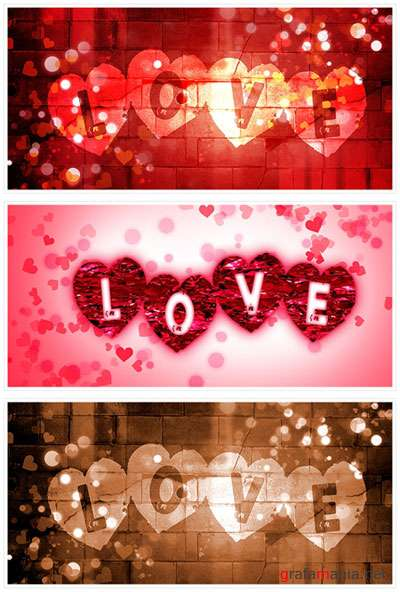 Love backgrounds - ���� � ����������