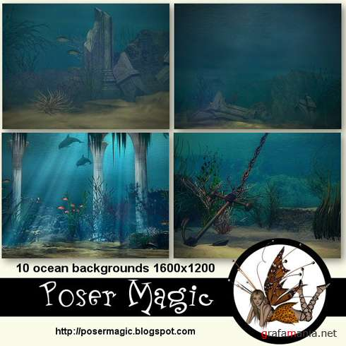 10 ocean backgrounds