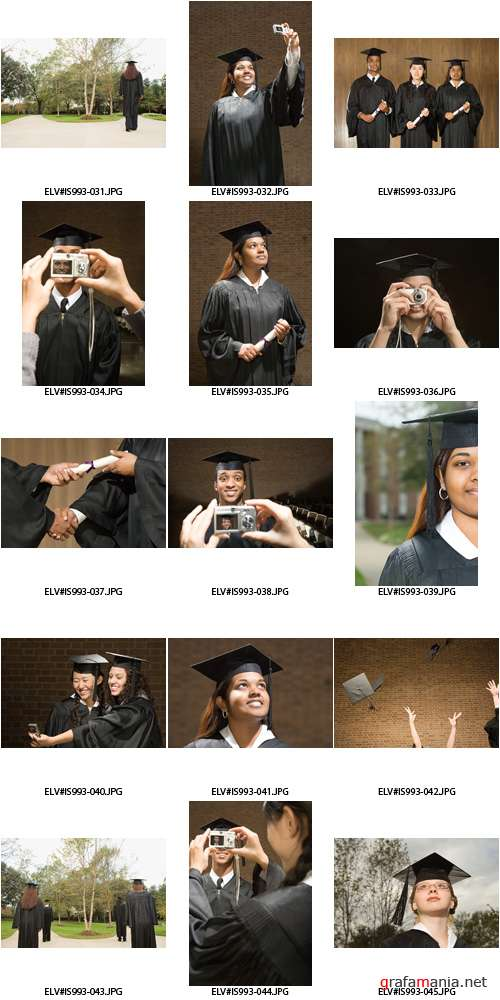 Image Source | IS993 | Cap And Gown